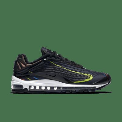 Nike Air Max Deluxe 'Black & Multicolour' Black/Midnight Navy/Reflect Silver/Black AJ7831-001