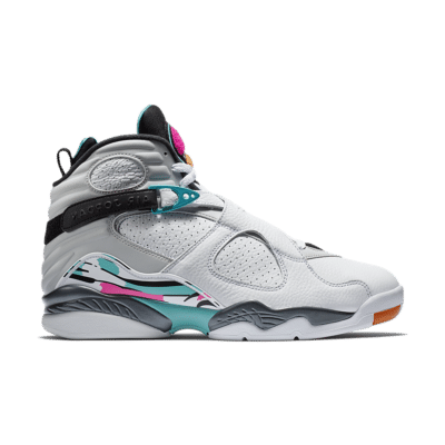 Air Jordan 8 Retro 'White & Turbo Green' White/Turbo Green/Neutral Grey/White 305381-113