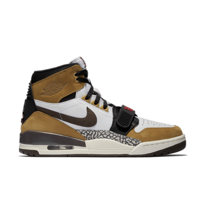 Air Jordan Legacy 312 'Wheat & Varsity Red' White/Wheat/Varsity Red/Baroque Brown AV3922-102