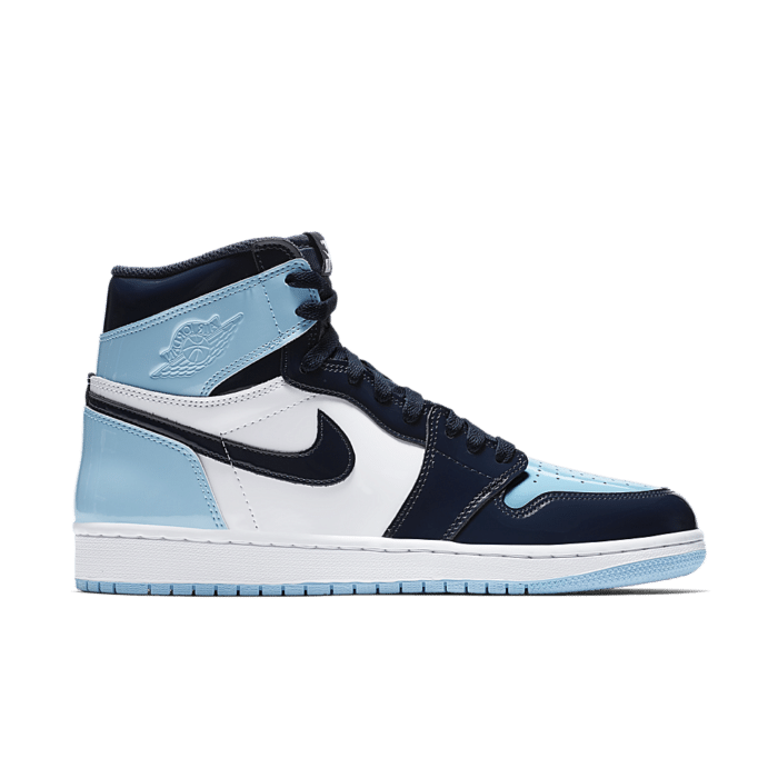 Women's Air Jordan 1 High 'Blue Chill & Obsidian & White'  Obsidian/White/Blue Chill CD0461-401