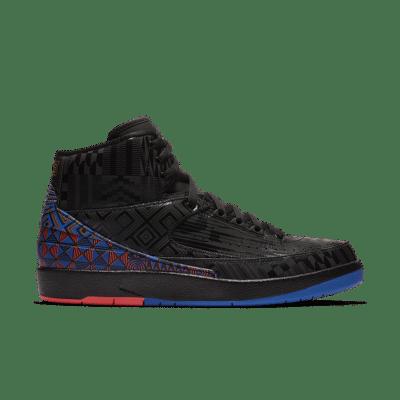 Air Jordan 2 'BHM' 2019 Black/Metallic Gold BQ7618-007