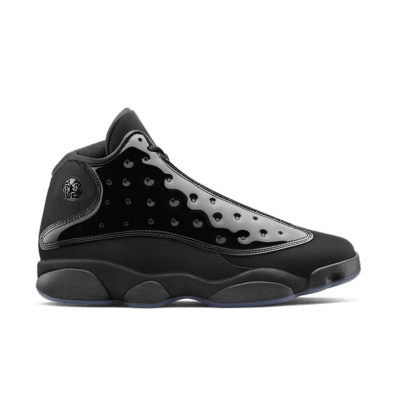 Air Jordan 13 'Cap and Gown' Black/Black 414571-012