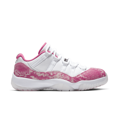 Women's Air Jordan XI Low 'White/Pink' White/Black/Watermelon AH7860-106
