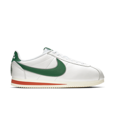 Nike x Stranger Things Cortez 'Hawkins High' White/Cosmic Clay/Sail/Pine Green CJ6106-100