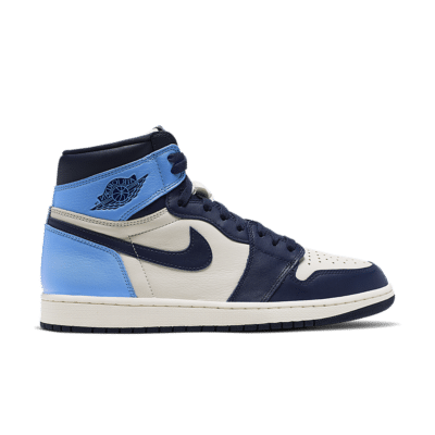 Air Jordan I 'Obsidian' Sail/University Blue/Obsidian