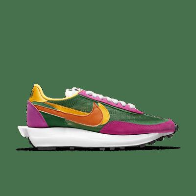 sacai x Nike LDWaffle 'Pine Green' Pine Green/Del Sol/Sail/Clay Orange BV0073-301