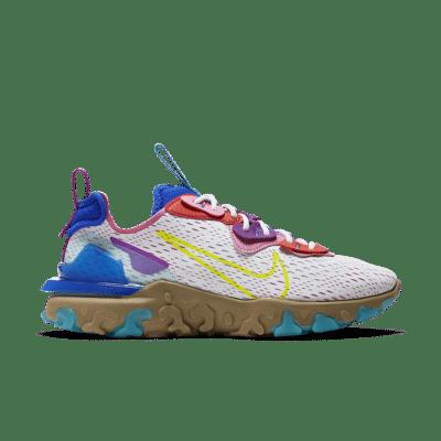 Nike Women's React Vision 'Photon Dust/Lemon Venom/Hyper Blue' Photon Dust/Hyper Blue/Magic Flamingo/Lemon Venom CI7523-001
