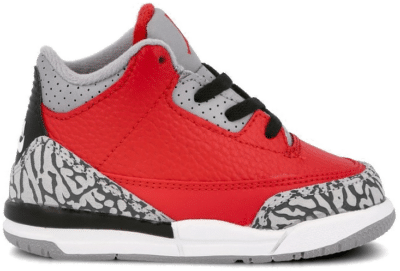 "Air Jordan 3 RETRO SE (TD) ""Fire Red"" CQ0489-600"