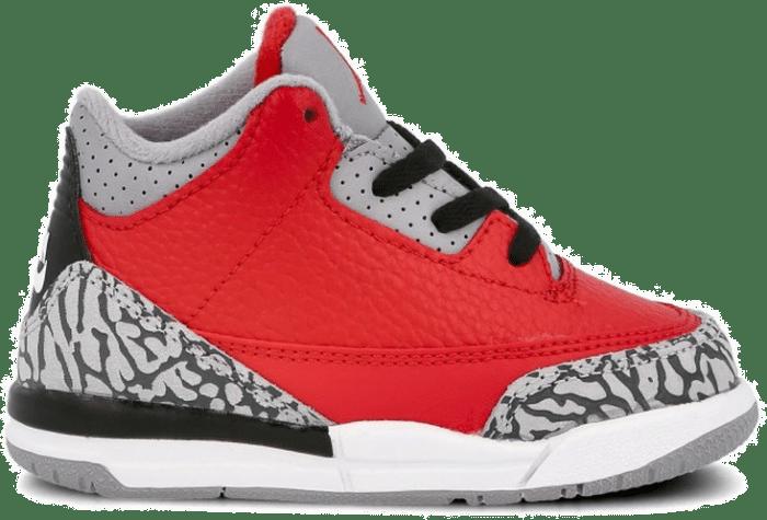"""Air Jordan 3 RETRO SE (TD) """"Fire Red"""" CQ0489-600"""
