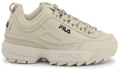 Fila Disruptor Low Gebroken Wit Dames  1010302.00Y