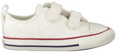 Converse Little Miss Easy-On Chuck Taylor All Star Low Top White 768032C