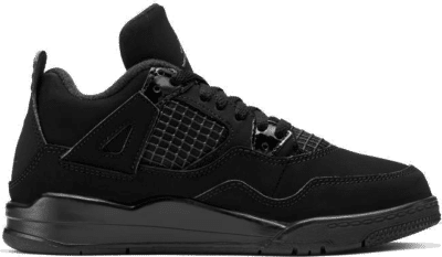 "Air Jordan 4 RETRO (PS) ""BLACK CAT"" BQ7669-010"