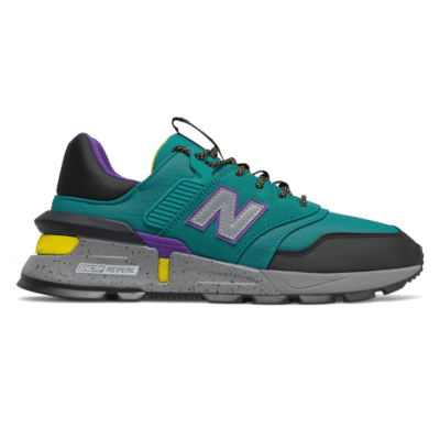 Herren New Balance 997 Sport Team Teal/Black/Yellow MS997SKA