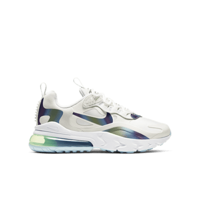 Nike Air Max 270 React 20 GS Summit White  CT9633-100