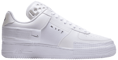 "Nike Air Force 1 Type ""White"" CQ2344-101"