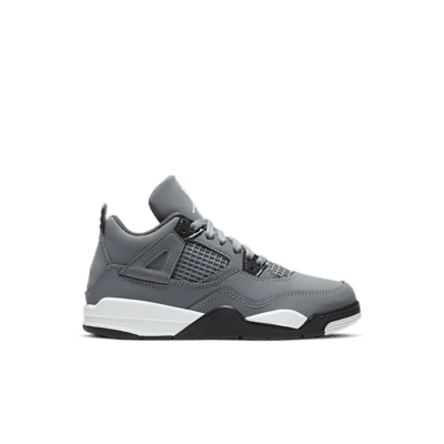 Jordan Brand Jordan 4 Retro (Ps) Grey BQ7669-007