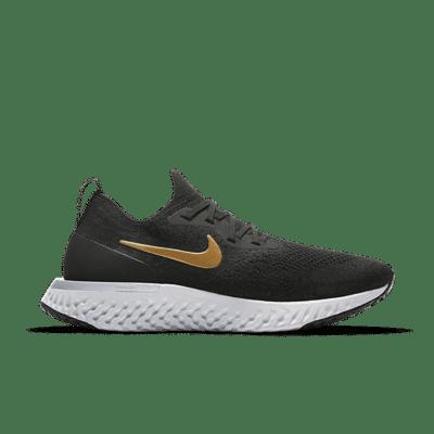Nike Epic React Flyknit Black Gold (W) AQ0070-013