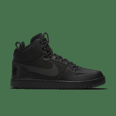 Nike Court Borough Mid Winter Triple Black AA0547-002