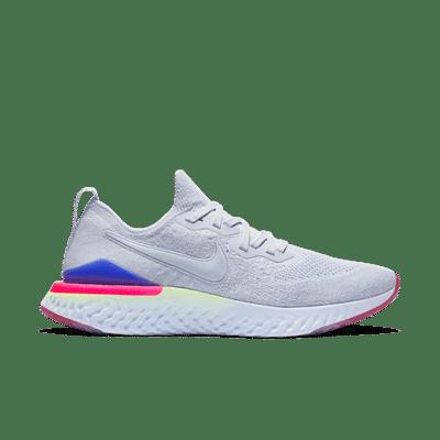 Nike Epic React Flyknit 2 Hydrogen Blue Sapphire Hyper Pink (W) BQ8927-453