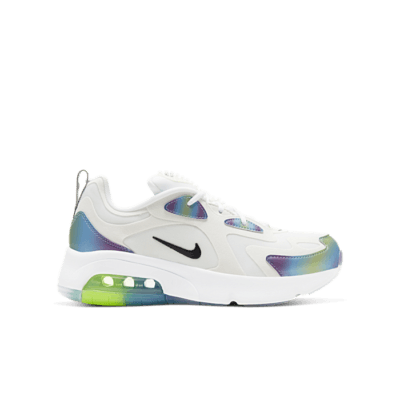 Nike Air Max 200 Bubble Pack White (GS) CT9632-100