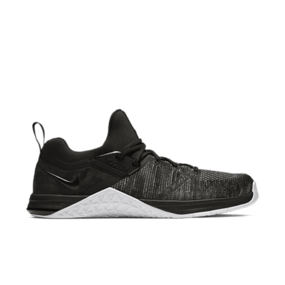 Nike Metcon Flyknit 3 Black Matte Silver AQ8022-001