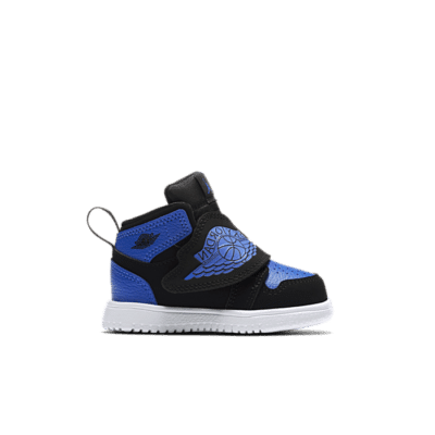 "Jordan Sky Jordan 1 ""Black Hyper royal White"" BQ7196-004"