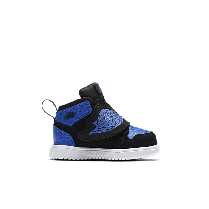 "Jordan Sky Jordan 1 ""Black Hyper royal White"" BQ7196-004"