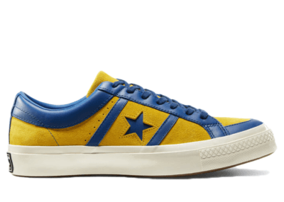 Converse One Star Academy Low Collegiate Suede Lemon Midnight Lake 167136C