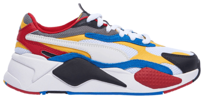 Puma RS-X 3 Puzzle White Yellow Black (GS) 372357-04