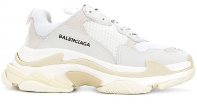 Balenciaga Triple S White Grey 534217W09E1 9000