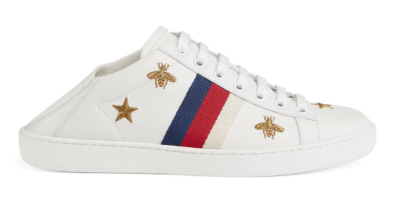Gucci Ace Bees and Stars (W) 498205 AXWQ0 9098