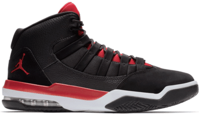 Jordan Max Aura Black Gym Red White AQ9084-061