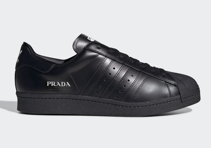Adidas black on black superstar