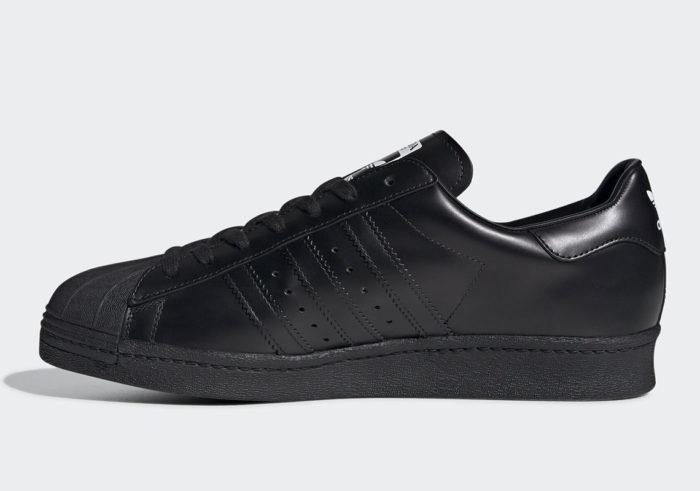 Adidas black superstar prada luxury