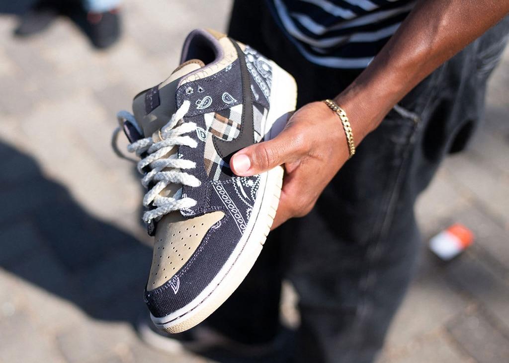 Laatste kans! Travis Scott Nike SB Dunk raffle