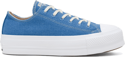 Converse Renew Cotton Chuck Taylor All Star Platform Low Top voor dames Coast/White/White 567105C
