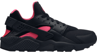 Nike Air Huarache Run Black Solar Red 318429-055