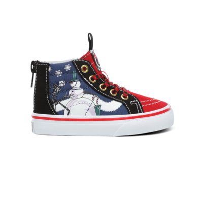 Vans Sk8-Hi Zip Nightmare Before Christmas Christmastown (TD) VN0A4BV1T33