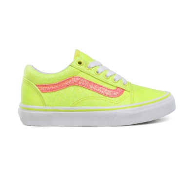 Vans Old Skool Yellow Glitter (PS) VN0A4BUUWKD