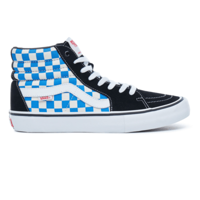 VANS Checkerboard Sh8-hi Pro  VA347TQ1L