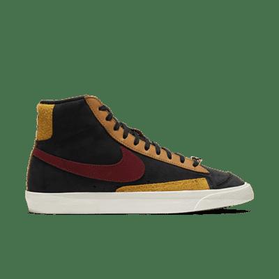 """Nike WMNS BLAZER MID '77 QS """"BLACK"""" CU6442-001"""