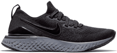 Nike Epic React Flyknit 2 Black Anthracite (GS) AQ3243-002