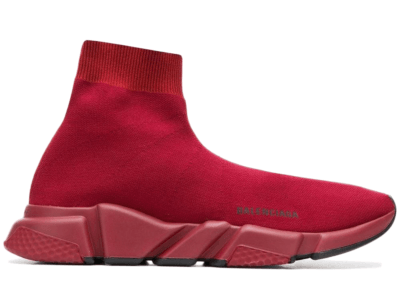 Balenciaga Speed Trainer Burgundy Black Sole 530349W05G0