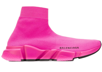 Balenciaga Speed Trainer Pink Black Sole (W) 525712W05G0
