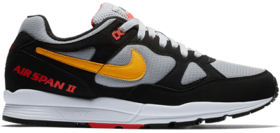 Nike Air Span 2 Black Yellow Ochre AH8047-010
