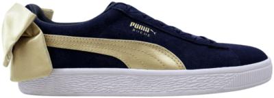 Puma Suede Bow Varsity Peacoat  (W) 367732-02