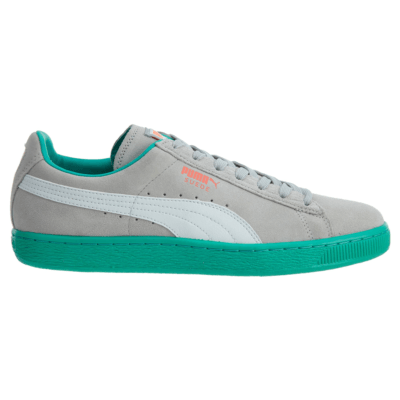 Puma Suede Classic + Lfs Grey Violet-White-Fluo Teal 356328-11