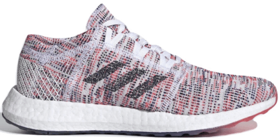 adidas Pureboost Go Cloud White Shock Red (W) B75829