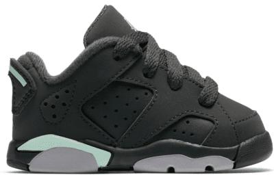 Jordan 6 Retro Low Anthracite Mint Foam (TD) 768885-015
