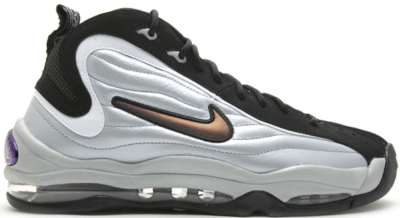 Nike Air Total Max Uptempo Metallic Silver Black 366724-001